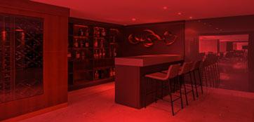 Projeto de bar em casa